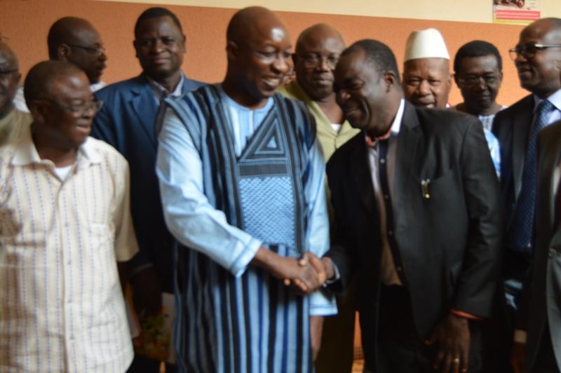 Rencontre gouvernement syndicat burkina 2018