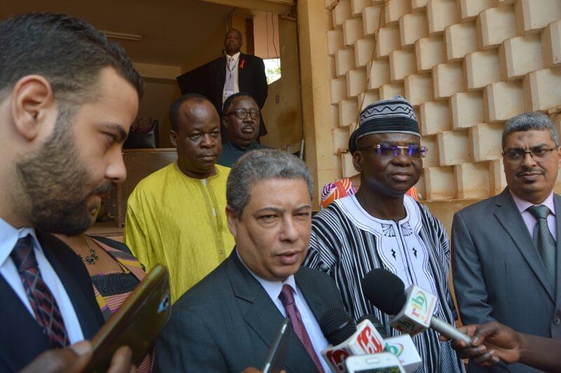 Hisham Hagi ambassadeur de l'Egypte au Burkina