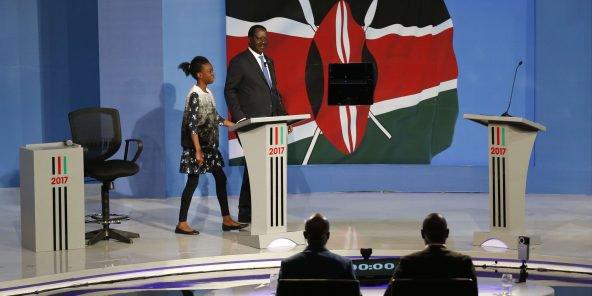 Débat télévisé en solitaire pour l'opposant Odinga — Présidentielle au Kenya
