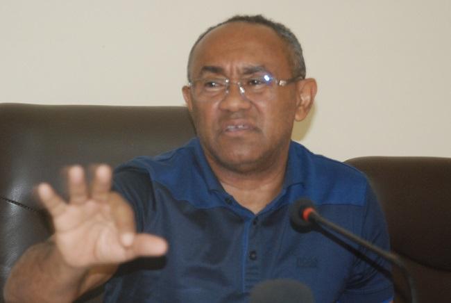 Ahmad Ahmad reçu par Christian Kaboré, président du Burkina Faso — Caf