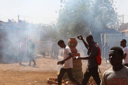 """Résultat de recherche d'images pour """"heurs manifestation a ouagadougou"""""""