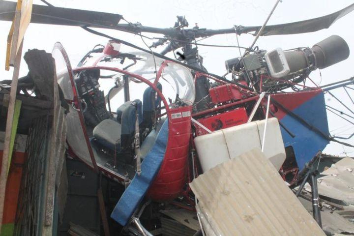 Côte d'Ivoire Crash d'un hélicoptère à Abidjan             Posté le14 décembre 2017 at 16 h 05 min par KOUAKOU                    188      0