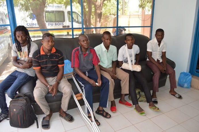 des blessés de l'insurrection populaire d'octobre 2014 et du putsch