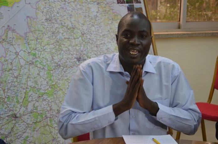 Windyam Zongo, le coordonnateur national de la CNSE