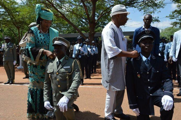 La 47e promotion s'est dotée d'une marraine à la personne du Médiateur du Faso, Sarah Sérémé.