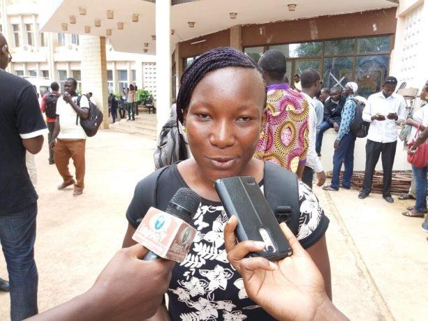 Ramatou Yaro, enseignante nouvellement recrutée