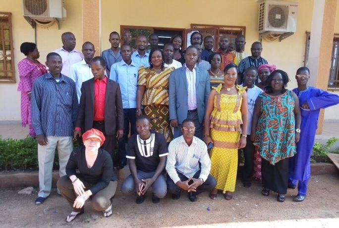 une trentaine de journalistes venus de Bobo-Dioulasso, de Ouahigouya, de Ouagadougou, de Dori et de Koudougou