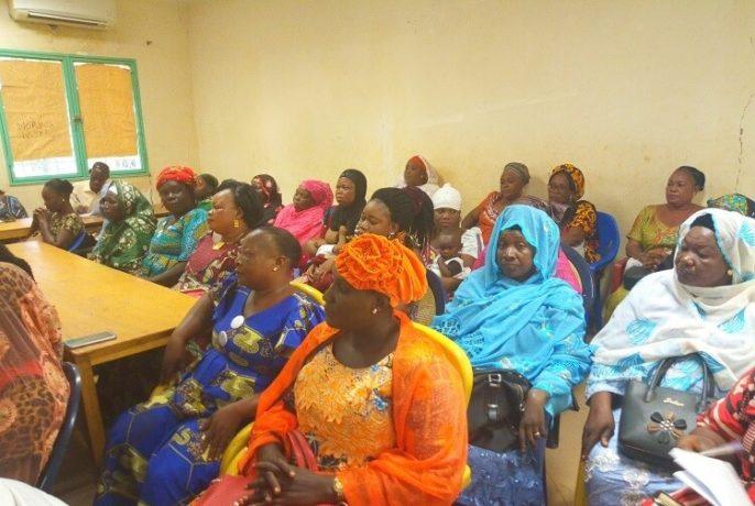 d'une coordination nationale des organisations féminines