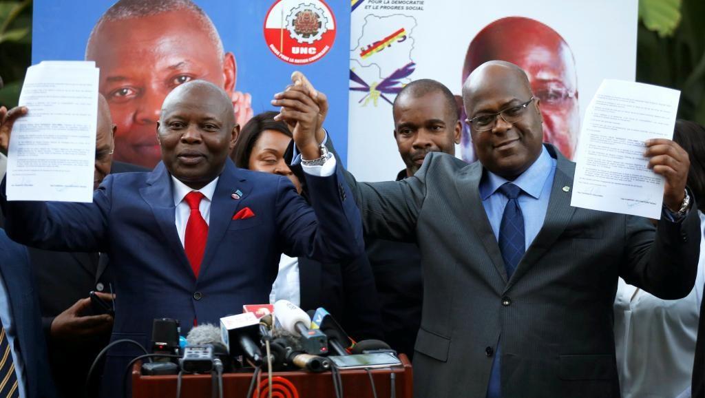 Des militants des deux camps saluent l'accord Tshisekedi-Kamerhe — Présidentielle en RDC