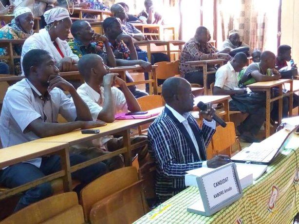 Dr Amado Kaboré a présenté une thèse en Histoire