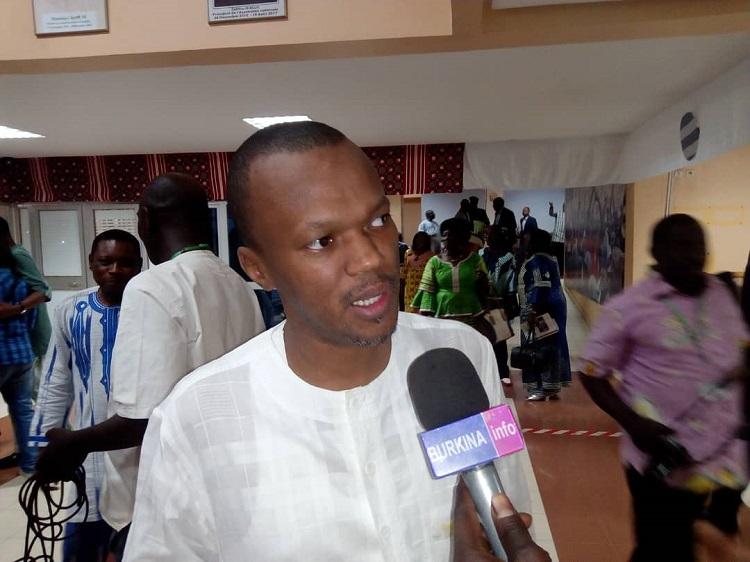 Aziz Diallo, le député maire de Dori,